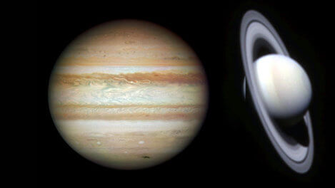 Could Jupiter And Saturn Be Hiding Massive Diamond Mines