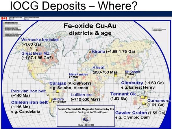 Uranium  Where Is It Found