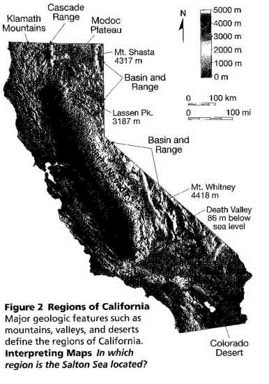 California Geology Facts