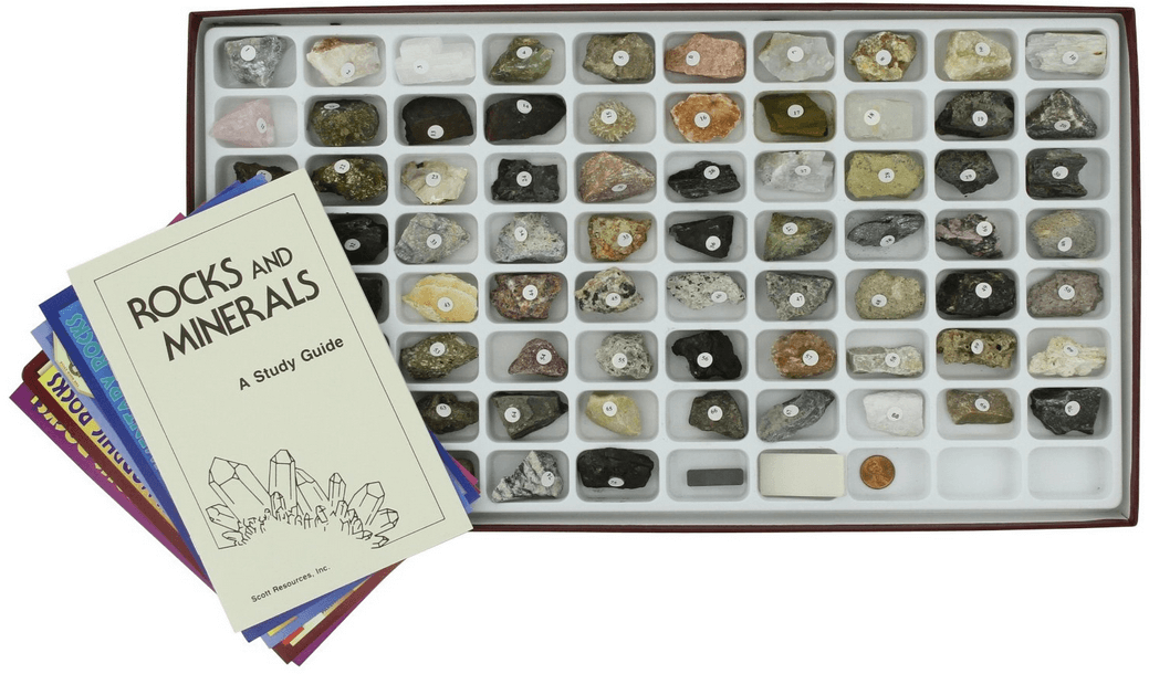 rock and mineral identification kit