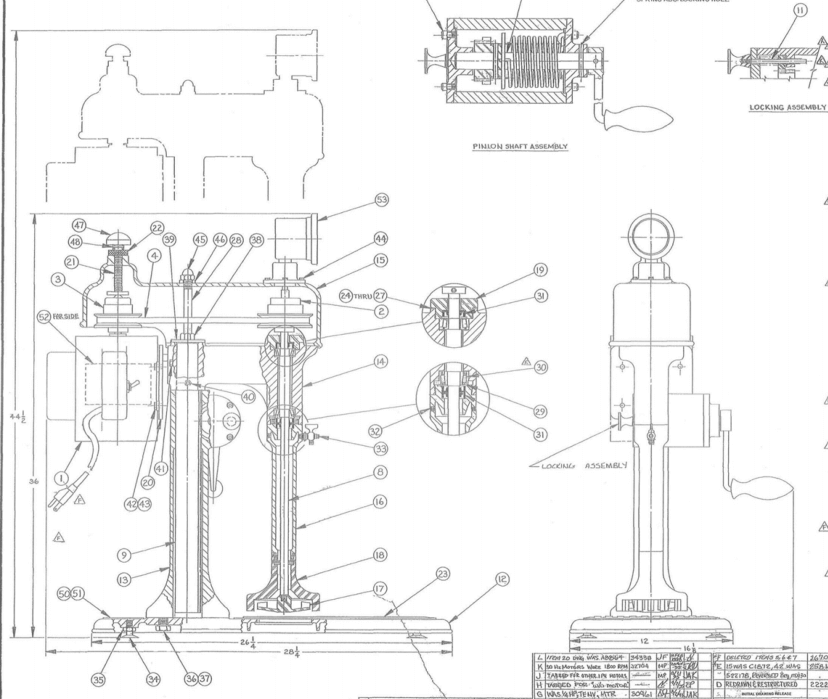 d12 laboratory flotation machine drawings  u0026 dimensions
