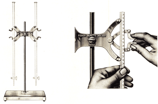 Laboratory Burette Supports And Holders