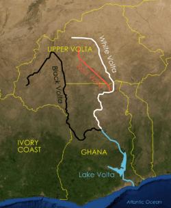 Artisanal mining ghana map