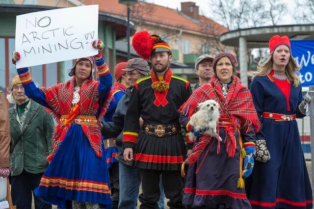 Eight People Arrested During Sami Protest Against Iron