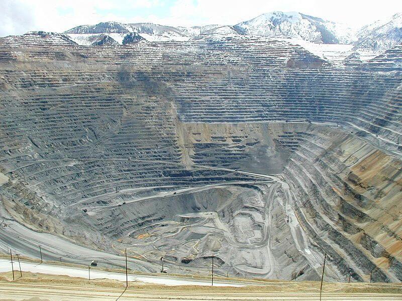 Bingham Canyon Open Pit Copper Mine mod