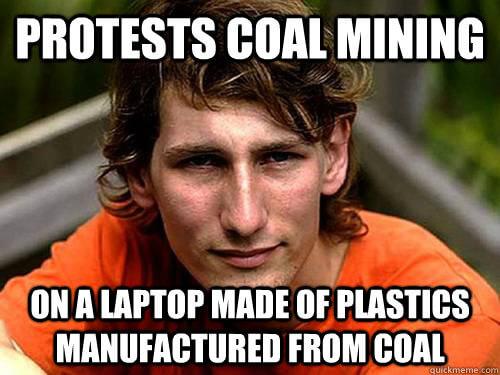 Confused Coal Activist mod