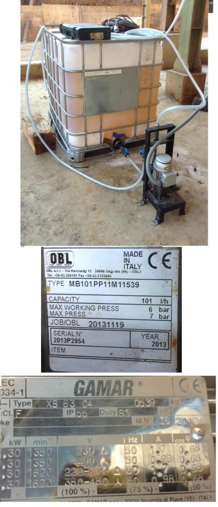 reagent metering pumps