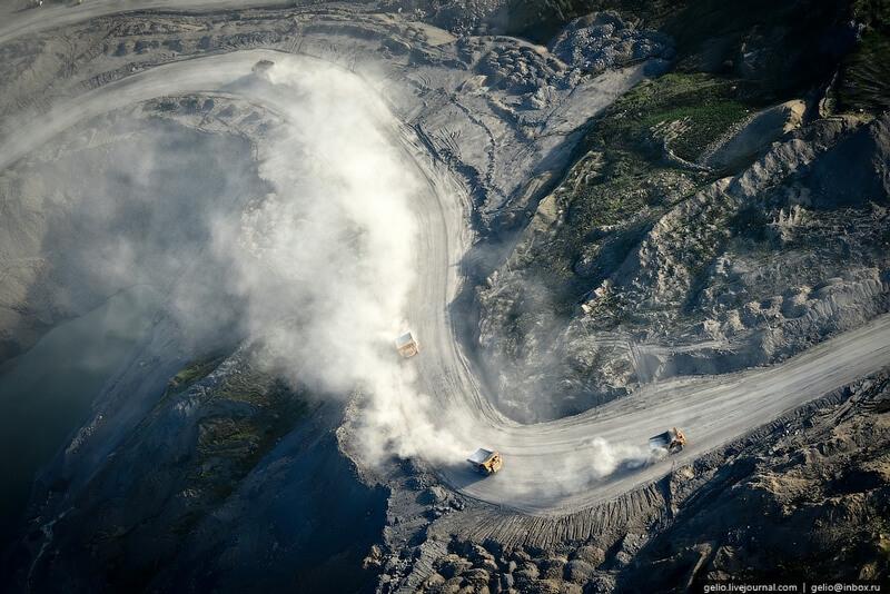 Kuznetsk opencast coal mine mod