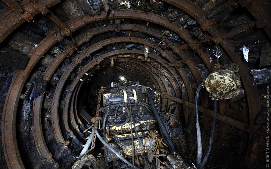 """The coal-pit """"Podmoskovnaya"""" mod"""