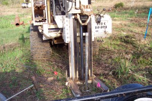 Track Mounted Geoprobe