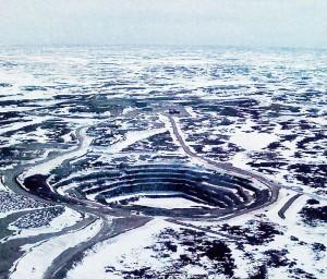 Jericho Diamond Mine, Canada Photo: Tom Churchill