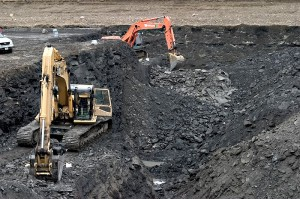 Mining operation in Alberta