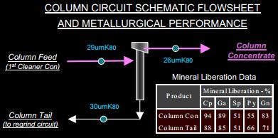 COLUMN CIRCUIT SCHEMATIC FLOWSHEET