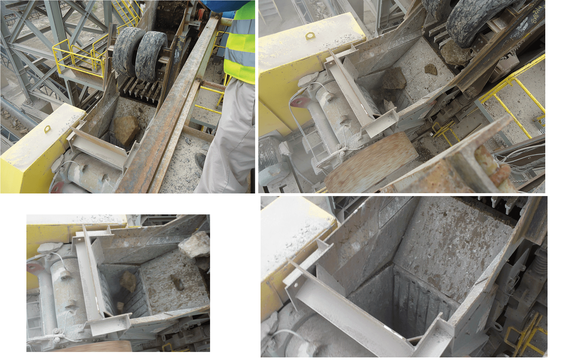 Inside a Jaw Crusher