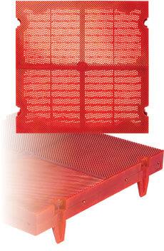 VST-Vector Slot Polyurethane Screen Panel