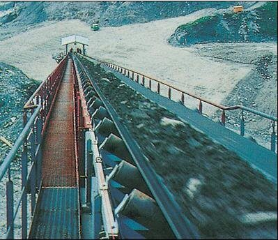 Design of a Belt Conveyor for iron ore