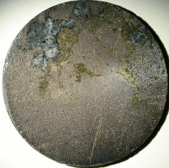 Norilsk_drill_core_section_massive_sulfides