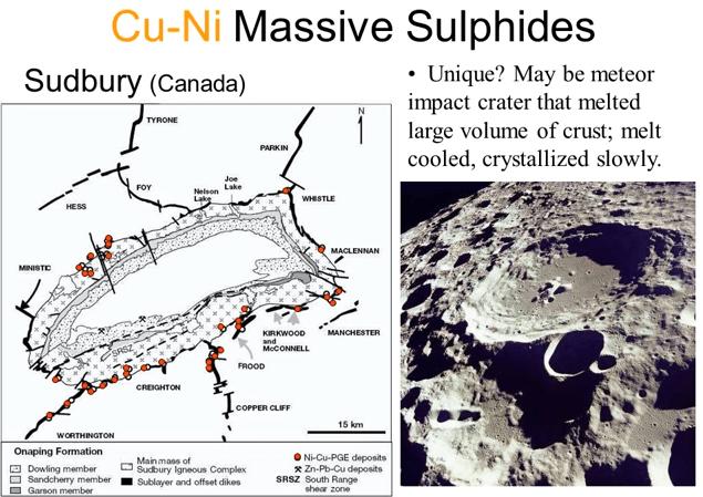 Sudbury Cu-Ni Mafic Complex