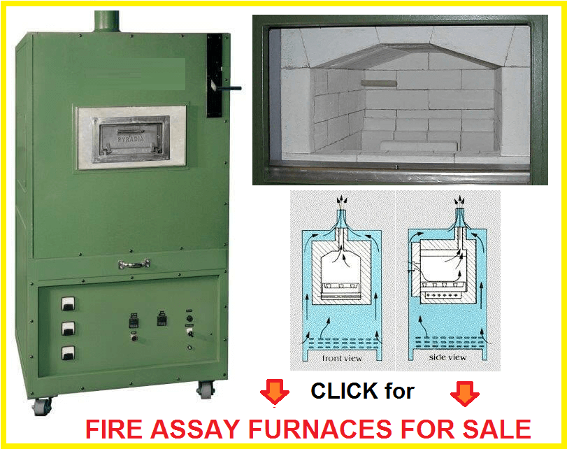 assay furnaces for sale