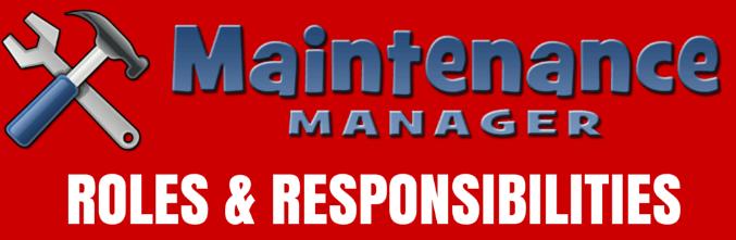 maintenance_management_responsibilities