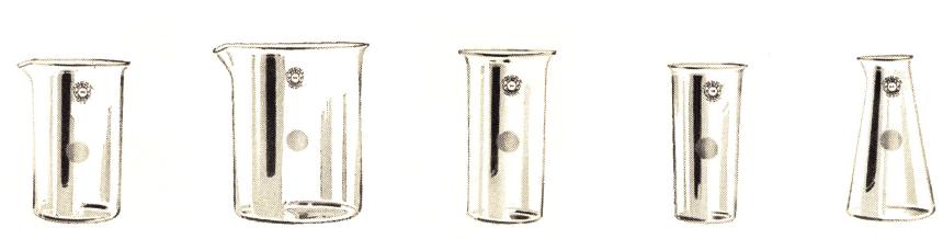 BEAKER, Griffin, Pyrex Glass