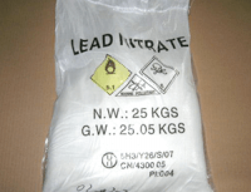 Lead Nitrate Safety