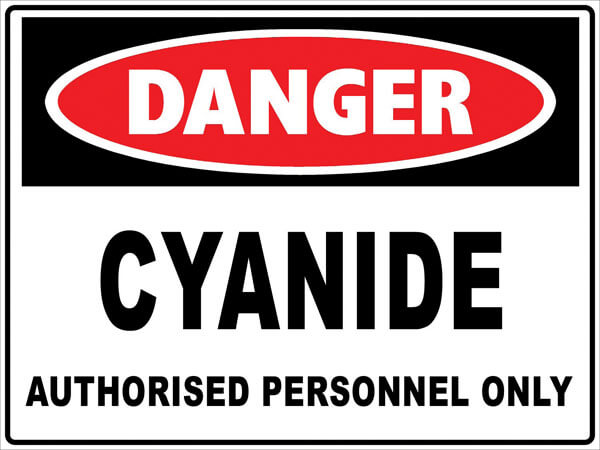 sodium-cyanide-safety-poisoning-hcn-vapor
