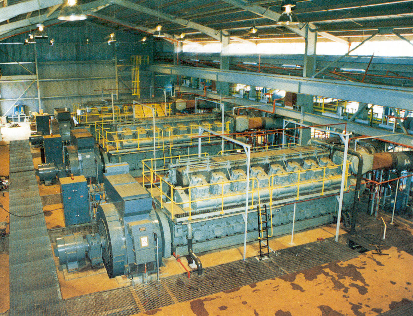 Diesel Power Generation Distribution for Mining Operations