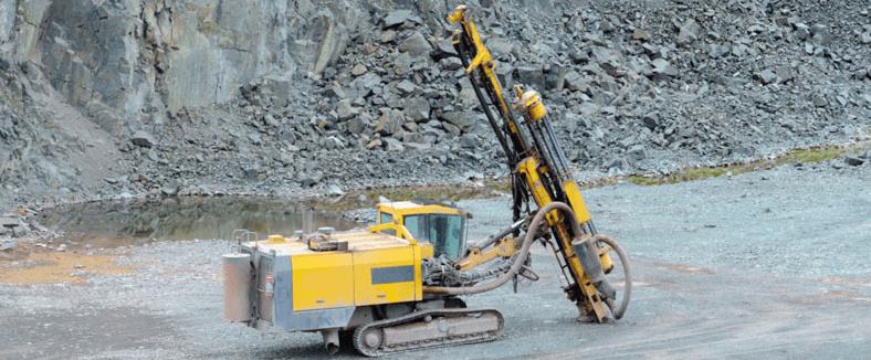 Rock Blasting Equipment : Rock drilling blasting mineral processing metallurgy