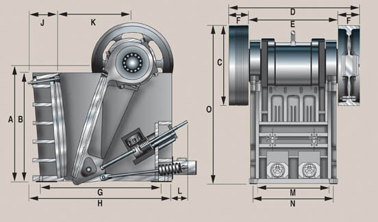 jaw crusher profile