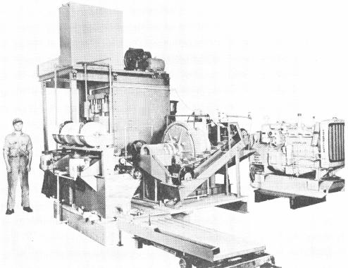 5 ton Portable Mill