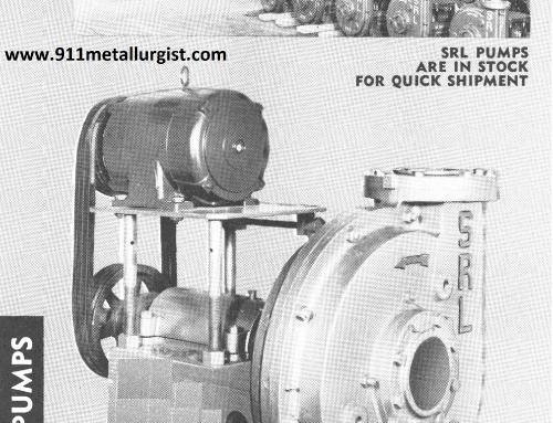 SRL Pump Parts & Pump Types