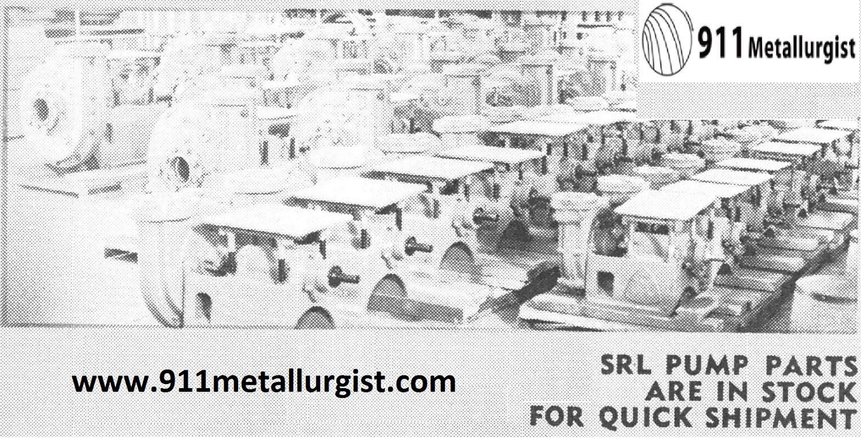 SRL Pump Parts