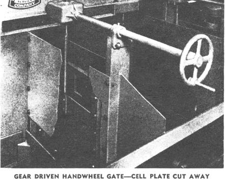 gear_driven_handwheel_gate_on_flotation_cell