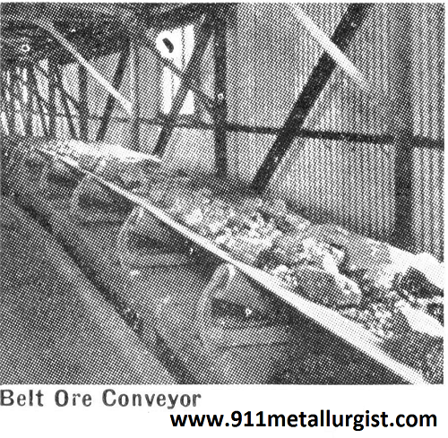 Belt Conveyor Ore