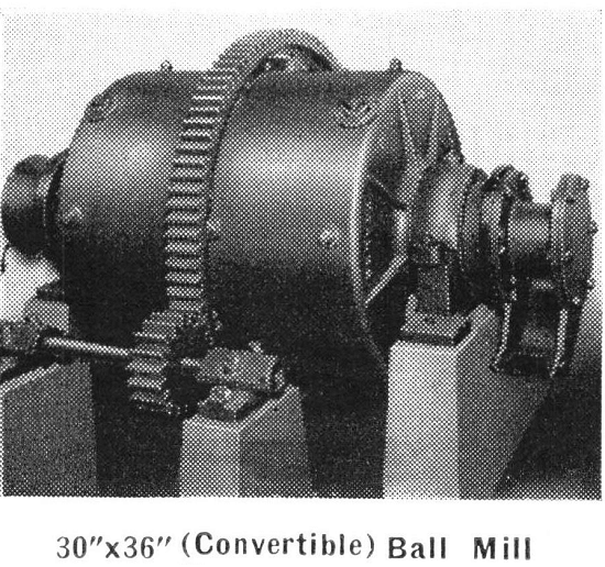 Convertible Ball Mill