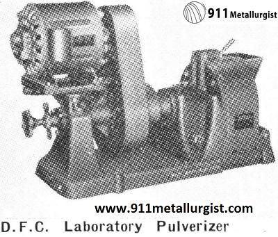D.F.C. Laboratory Pulverizer