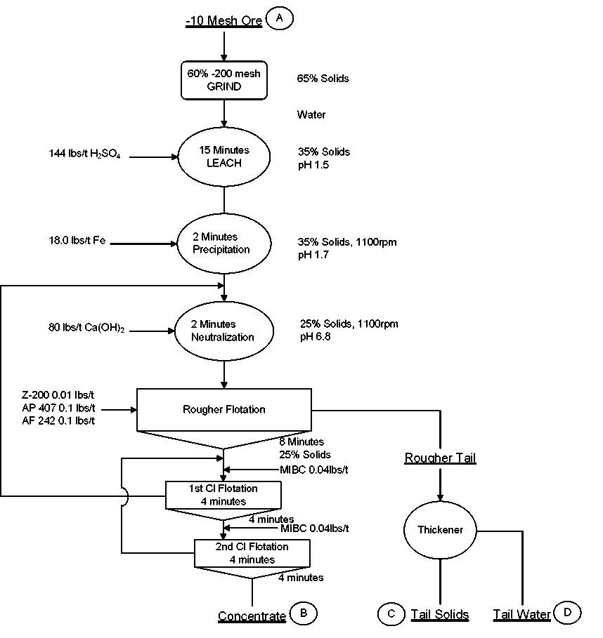 MSRDI Conceptual Flowsheet LPF