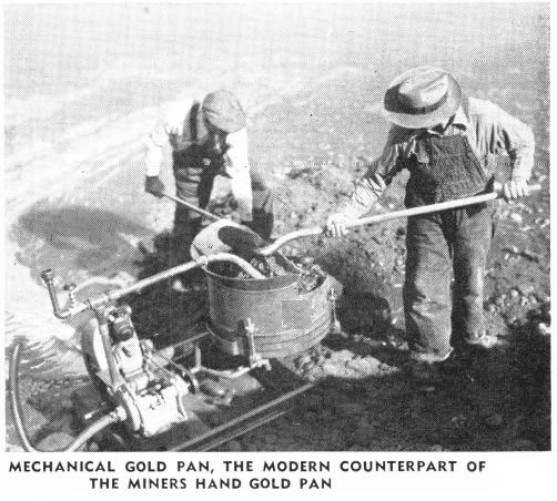 Mechanical Gold Pan