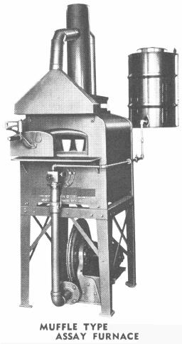 Muffle Type Assay Furnace
