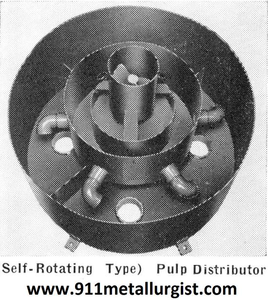 Pulp Distributor.