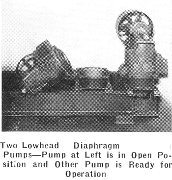 Pump, Diaphragm, Lowhead