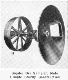 Snyder Ore Sampler