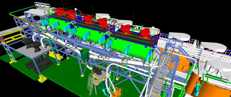 design flotation plant