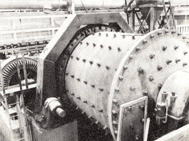 Diaphragm_type_ball_mill