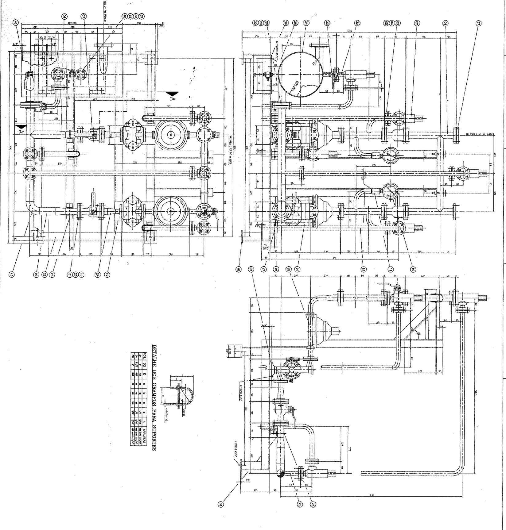 Drawings for Hydrogen Peroxide Cyanide Destruction System