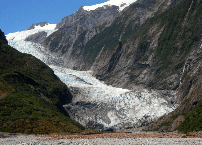 essays on landforms produced by glaciers Before looking at specific river landforms it is important to look at how the river channel itself changes  if a landscape has been cut out by valley glaciers,.