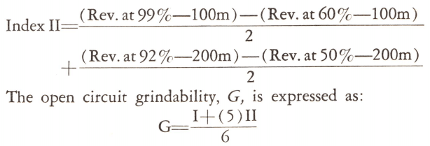 open_circuit_Grindability_Indices