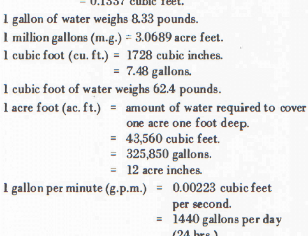 Gravity Gold Process Water Requirements