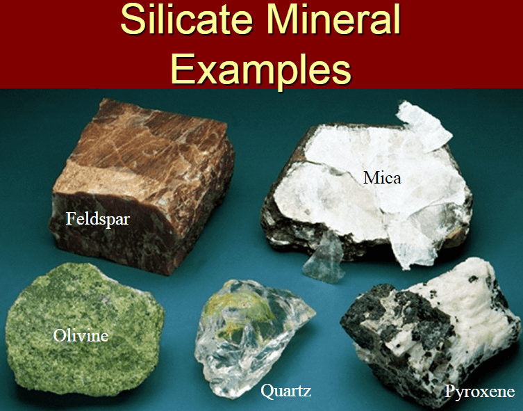Chemical Properties Of Silicate Minerals